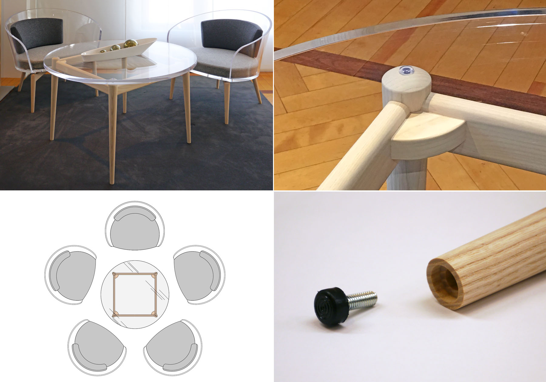 PRODUCT : PLUM CORE TABLE